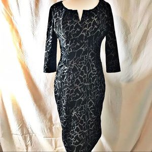 Adrianna Papell Long Sleeve Dress Size 6